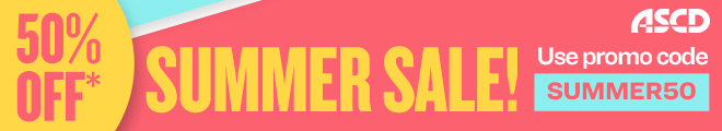 Take an additional 50% off all books on sale in the ASCD Online Store.