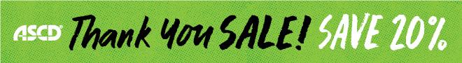 ASCD Thank You Sale 2018