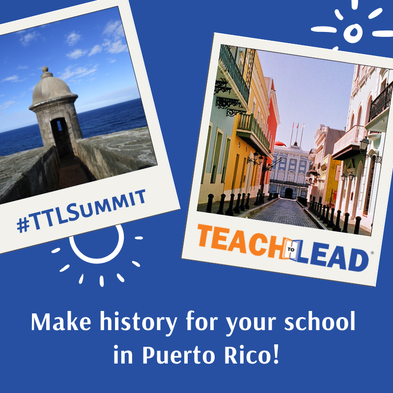 Teach to Lead Summit.