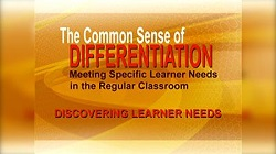 The Common Sense of Differentiation Video