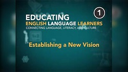 Educating English Language Learners: Establishing a New Vision Program 1 Video