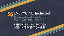 Response to Instruction and Intervention (RTI)
