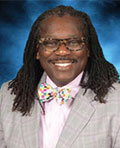 Charles Anderson Jr., Principal at Michele Clark Academic Prep Magnet High School in Chicago, Illinois.