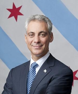 Rham Emanuel, Mayor of Chicago, Illinois, USA