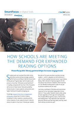 How Schools are Meeting the Demand for Expanded Reading Options