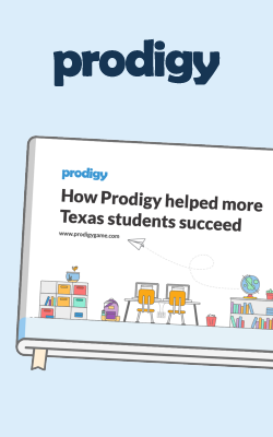 How Prodigy Helped More Texas Students Succeed