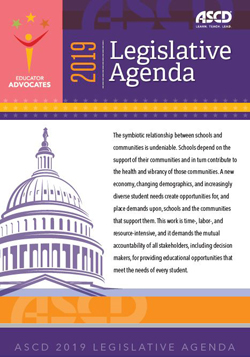 Download the 2019 ASCD Legislative Agenda