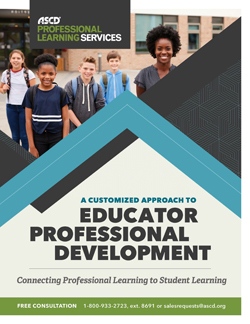 Download the ASCD Professional Learning Services brochure.