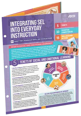 Integrating SEL into Everyday Instruction - Quick Reference Guide