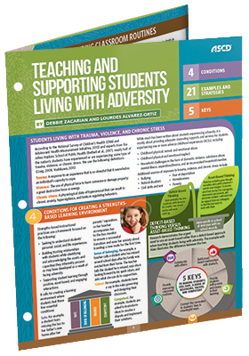 Teaching and Supporting Students Living with Adversity (Quick Reference Guide)