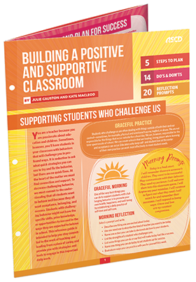 Building a Positive and Supportive Classroom (Quick Reference Guide)