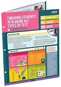 Engaging Students in Reading All Types of Text by Pam Allyn and Monica Burns, an ASCD Quick Reference Guide